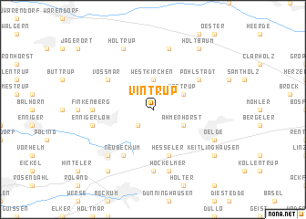 map of Vintrup
