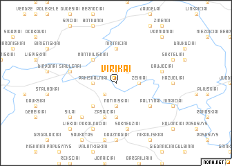 map of Virikai