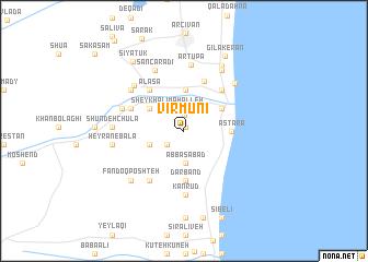 map of Vīrmūnī