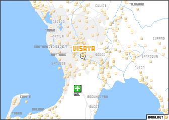 map of Visaya
