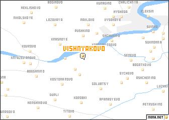 map of Vishnyakovo