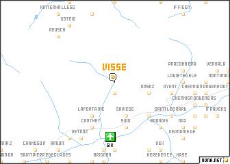 map of Visse
