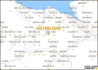 map of Vista-Alegre