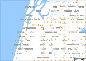 map of Vista Alegre