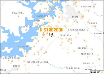 map of Vista Brook