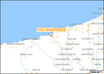 map of Vista Hermosa