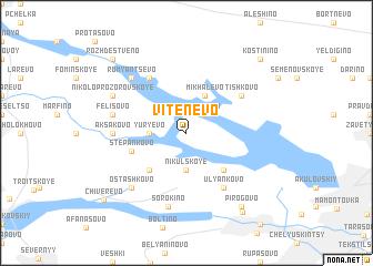 map of Vitenëvo