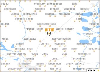 map of Vitín