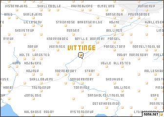 map of Vittinge