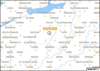 map of Viveiro