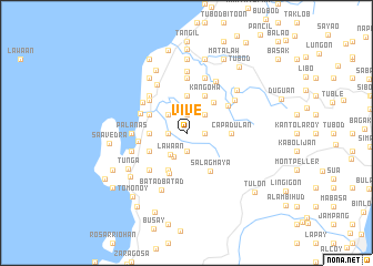 map of Vive