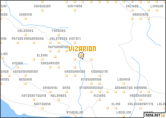 map of Vizárion