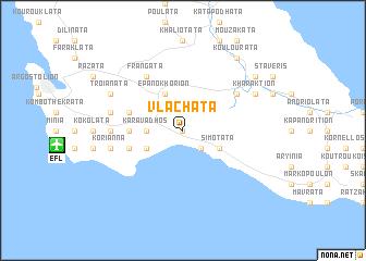 map of Vlacháta
