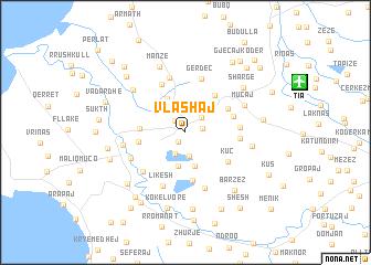 map of Vlashaj