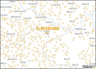 map of Vlaške Vode