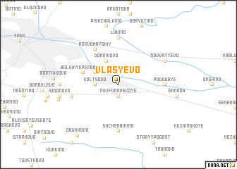 map of Vlas\