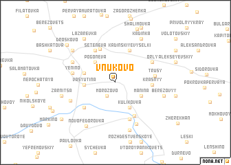 map of Vnukovo