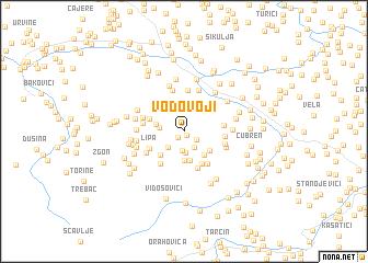 map of Vodovoji