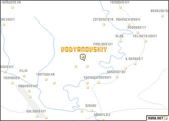 map of Vodyanovskiy