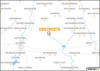 map of Vodyanoye