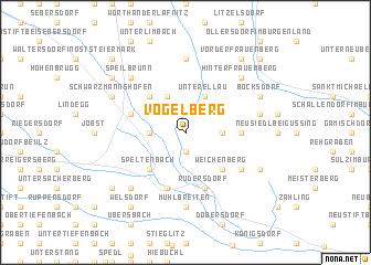 map of Vogelberg