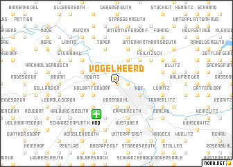 map of Vogelheerd