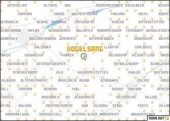 map of Vogelsang
