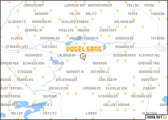 map of Vogelsang