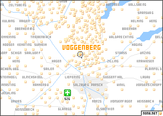 map of Voggenberg