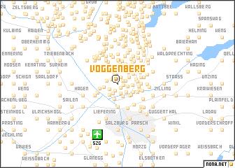 map of Voggenberg