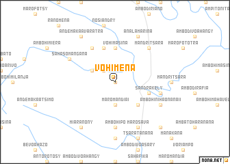 map of Vohimena