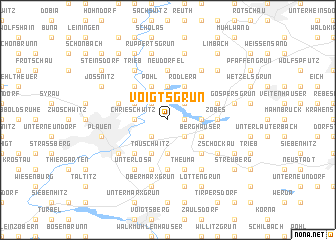 map of Voigtsgrün