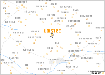map of Võistre