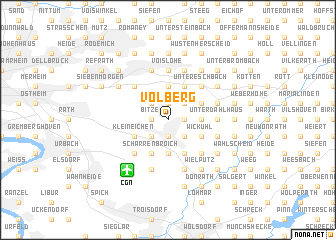map of Volberg