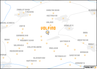 map of Volfino