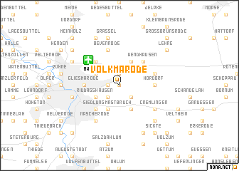 map of Volkmarode