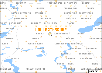 map of Vollrathsruhe