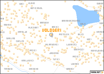 map of Voloderi