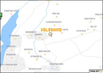 map of Voloshino