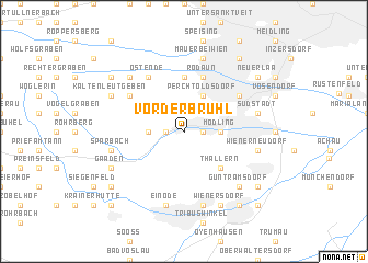 map of Vorderbrühl