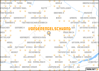 map of Vorder Engelschwand