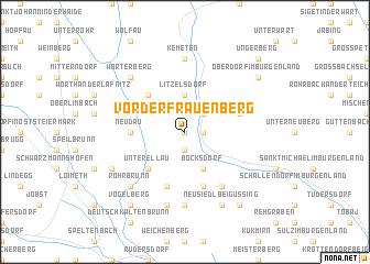map of Vorderfrauenberg