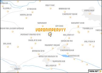 map of Voronin Pervyy