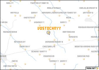 map of Vostochnyy