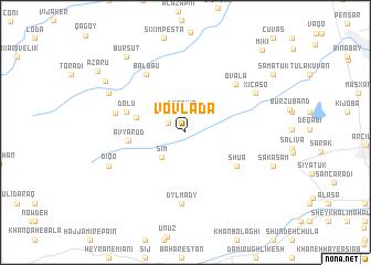 map of Vovlada