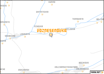 map of Voznesenovka