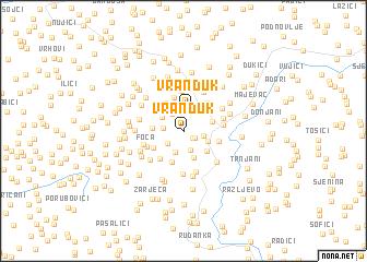 map of Vranduk
