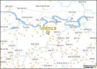 map of Vranica