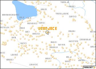 map of Vranjače