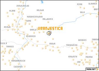 map of Vranještica